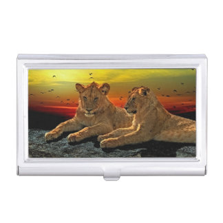 Lion Style Business Card Case