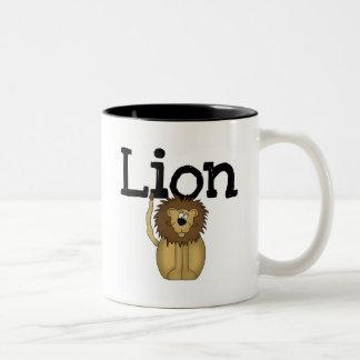 Lion T-shirts and Gifts Coffee Mugs