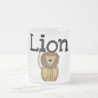 Lion T-shirts and Gifts Mug
