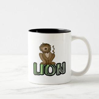 Lion T-shirts and Gifts Coffee Mug