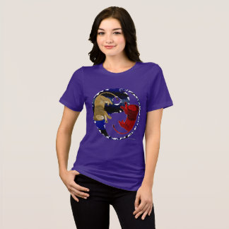 Lion Tao Ladies Relaxed Fit T-Shirt