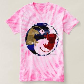 Lion Tao Ladies Tie-Dye T-shirt