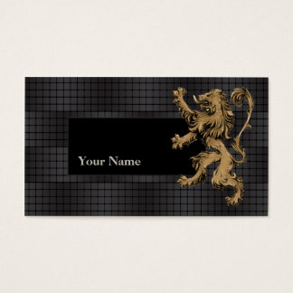 Lion Techno Gradient Artist Business Card