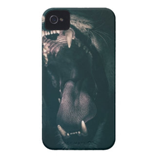 Lion Teeth Roar Fear Angry Roaring Strength Case-Mate iPhone 4 Case