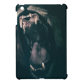 Lion Teeth Roar Fear Angry Roaring Strength iPad Mini Covers