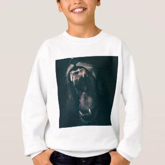 Lion Teeth Roar Fear Angry Roaring Strength Sweatshirt