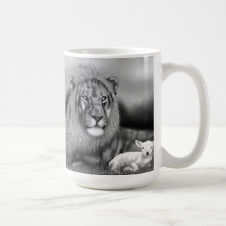 Lion & the Lamb Coffee Mug