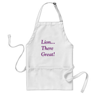 Lion...  There Great! Standard Apron