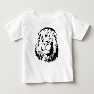 Lion Tribal 002 Baby T-Shirt