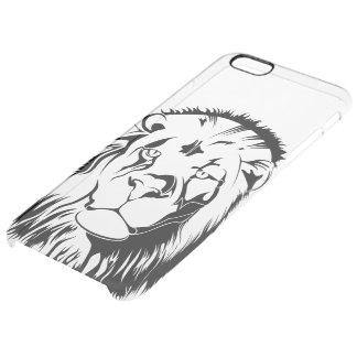Lion Tribal 002 Clear iPhone 6 Plus Case
