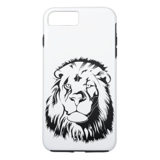 Lion Tribal 002 iPhone 8 Plus/7 Plus Case