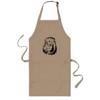 Lion Tribal 002 Long Apron