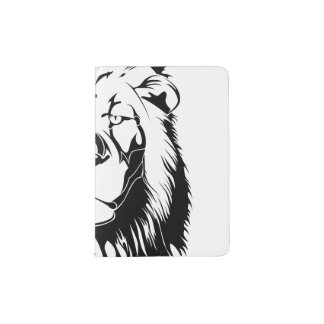 Lion Tribal 002 Passport Holder