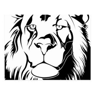 Lion Tribal 002 Postcard