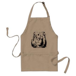Lion Tribal 002 Standard Apron