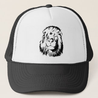 Lion Tribal 002 Trucker Hat