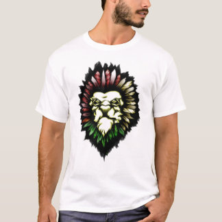 Lion TRIBAL TATTOO T-Shirt