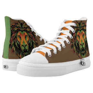 Lion Warrior Chuck T's - Sneakers