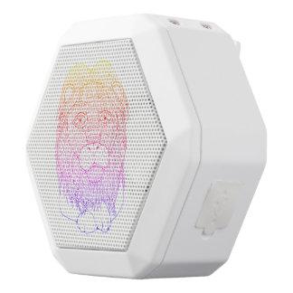 Lion White Bluetooth Speaker