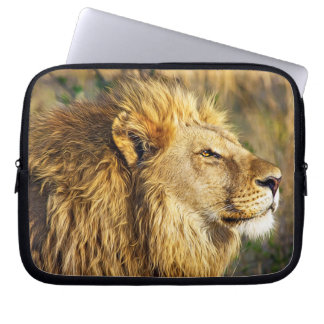 Lion Wild Animal Wildlife Safari Laptop Computer Sleeve