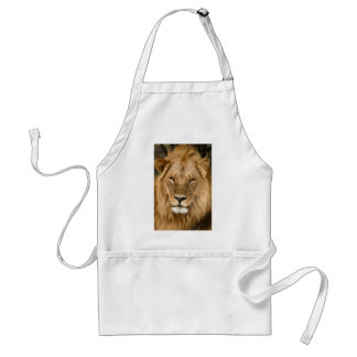 Lion With Great Mane Adult Apron