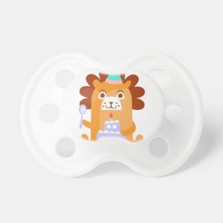 Lion With Party Attributes Girly Stylized Funky Dummy