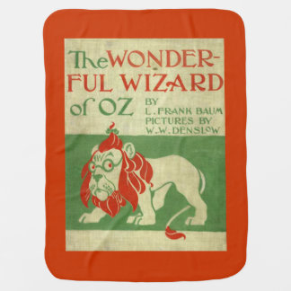 Lion Wizard of Oz Baby Blanket