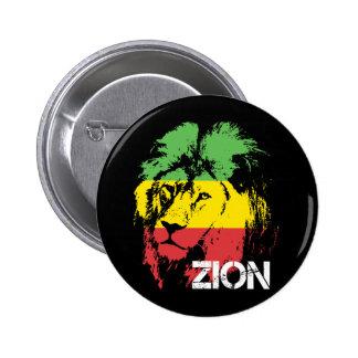 Lion Zion Pinback Button