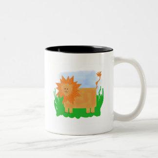 Lion Zoo Animal Tshirts and Gifts Coffee Mugs