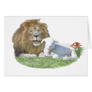 lionandlamb card