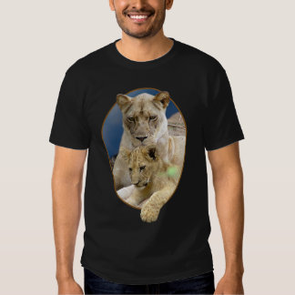Lioness and Cub T-shirt 2