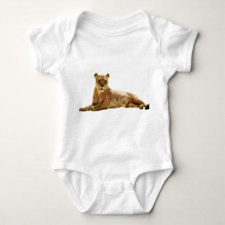 Lioness Double Exposure Baby Bodysuit