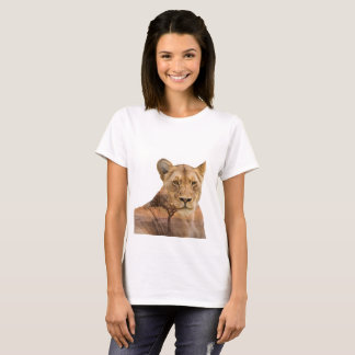 Lioness Double Exposure T-Shirt