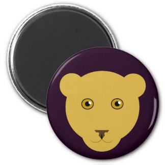 Lioness Face Magnet