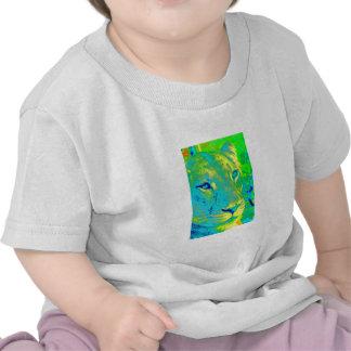 Lioness in Neon Tee Shirt