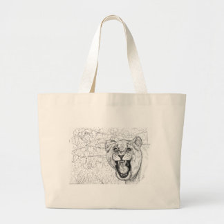 Lioness Large Tote Bag