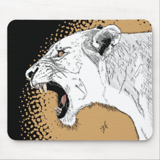 lioness mouse pad