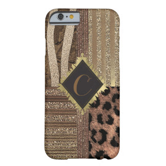Lioness Safari Chic Jungle Glam Modern Sparkle Barely There iPhone 6 Case