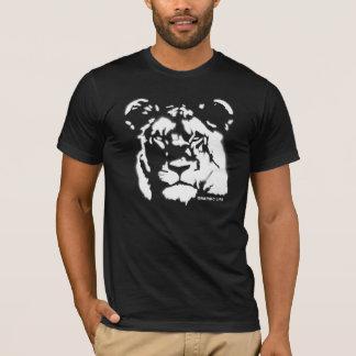 Lioness Spray Paint Design T-Shirt