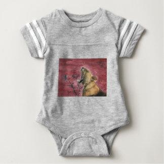 Lioness Yawn Baby Bodysuit