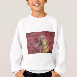 Lioness Yawn Sweatshirt