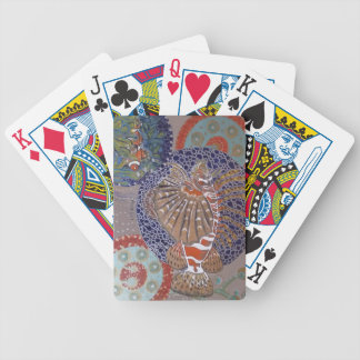 Lionfish Bicycle Playing Cards