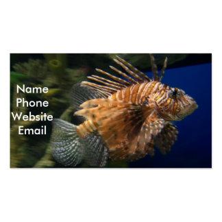 Lionfish Profile Card Business Card