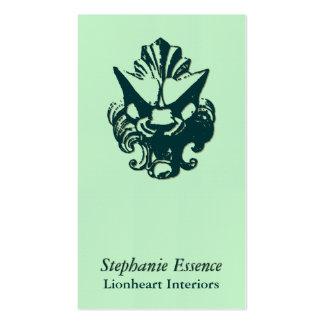 Lionheart Ornament Evergreen Pack Of Standard Business Cards