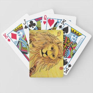 lionlarge poker deck