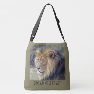 Lions Across Body 2-sided image bag