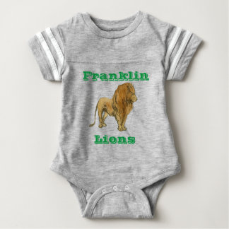 Lions Baby Football Bodysuit