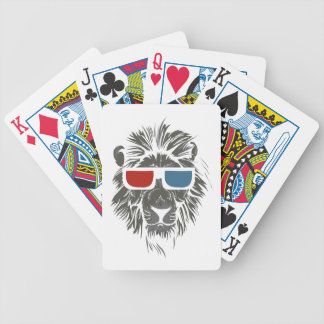 LIONS BICYCLE PLAYING CARDS