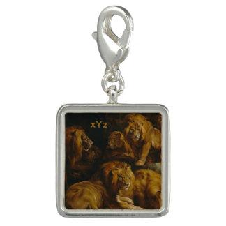 Lions' Den custom charm / bracelet