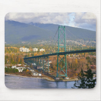 Lions Gate Bridge Mouse Pad